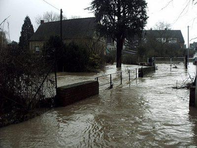Photo 2 / Foto 2 Un risque inondation existant sur notre territoire