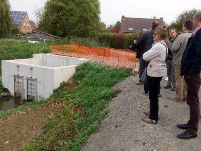 Photo 8 / Foto 8 Des visites de chantier entre partenaires transfrontaliers
