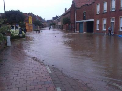 Photo 15 / Foto 15  Un risque inondation existant sur notre territoire