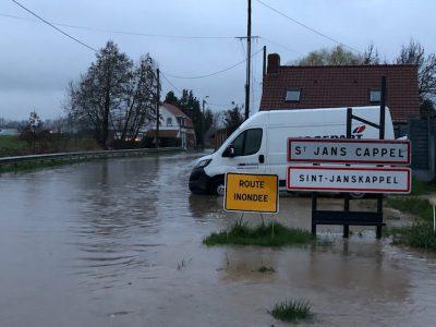 Photo 14 / Foto 14  Un risque inondation existant sur notre territoire